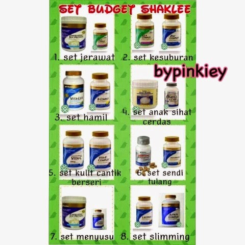 Set Bajet Shaklee