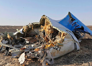 A Russion Metrojet A321 crashed in the Sinai