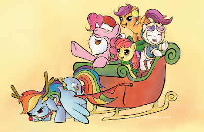 Rainbow Dash is planning her revenge. The rest are soon to follow.