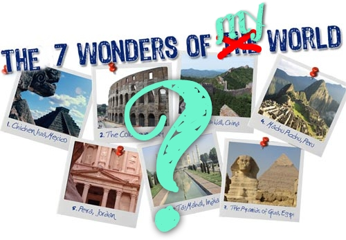 seven wonders of the world with pictures and information pdf