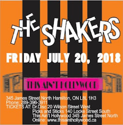 Shakers Reunion @ This Ain't Hollywood (Hamilton)