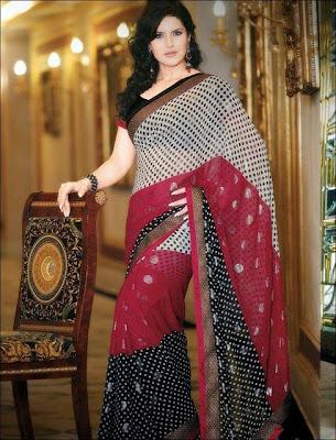 New Sari designs