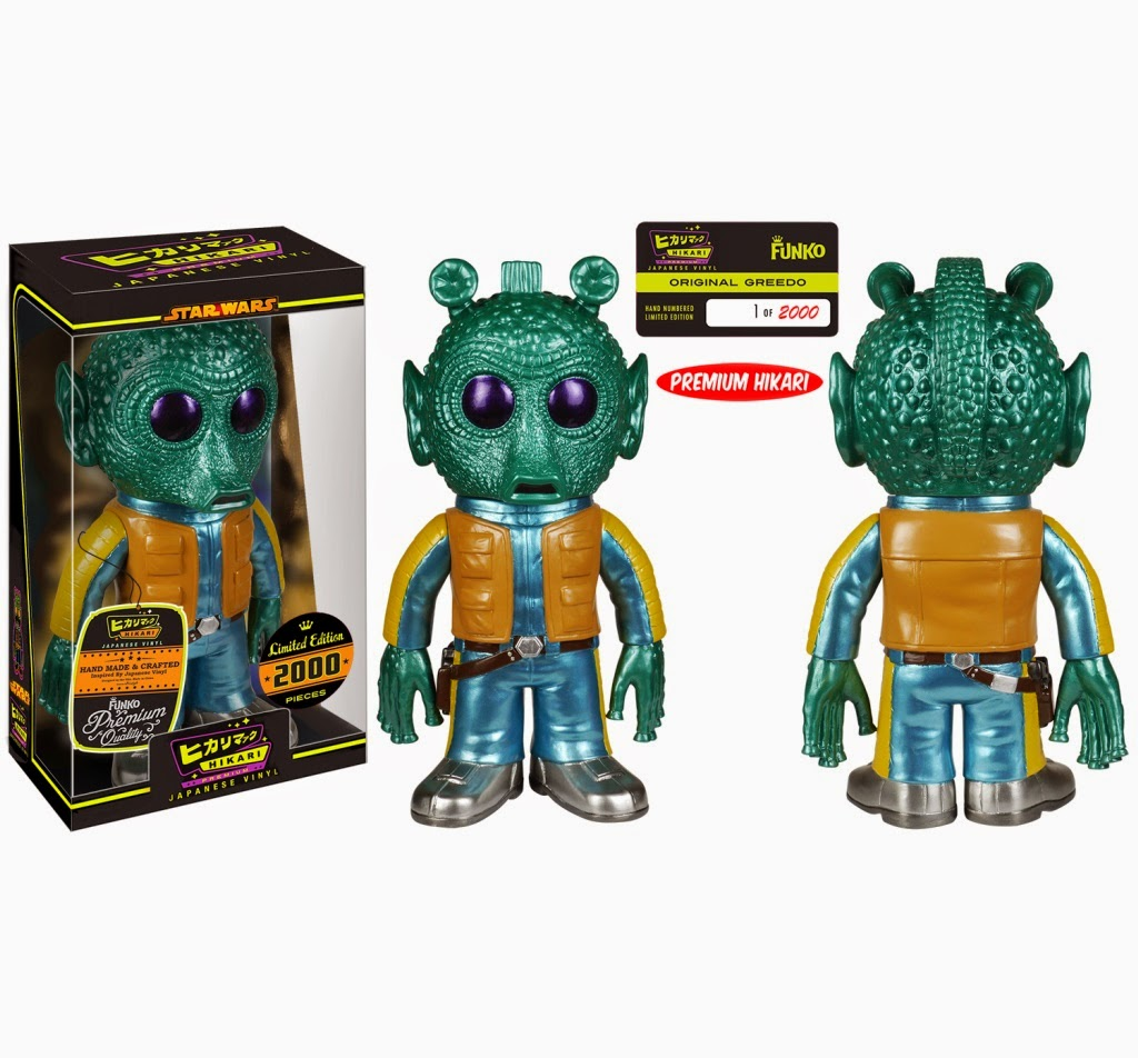 """Original"" Greedo Star Wars Premium Hikari Sofubi Vinyl Figure by Funko"