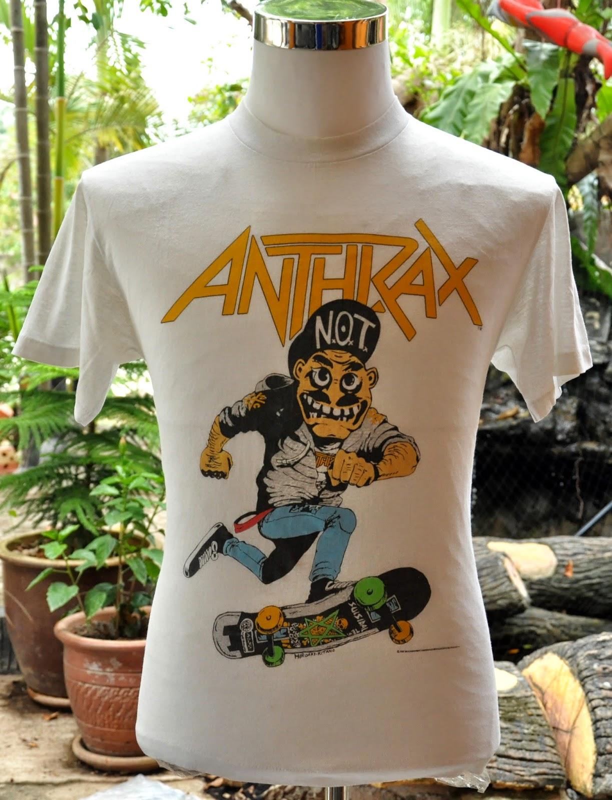 Vintage Anthrax Mosh It Up 1987