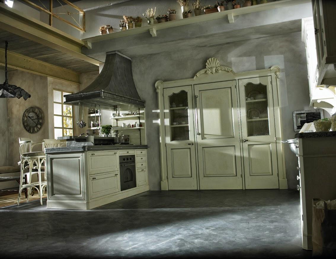 L 39 appartamento al piano di sotto cucine country da - Cucine da sogno ...