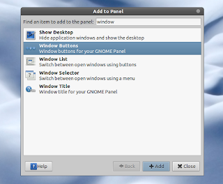 window applets add to panel