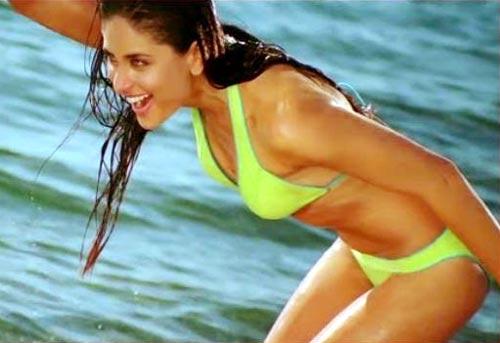kareena kapoor bikini song