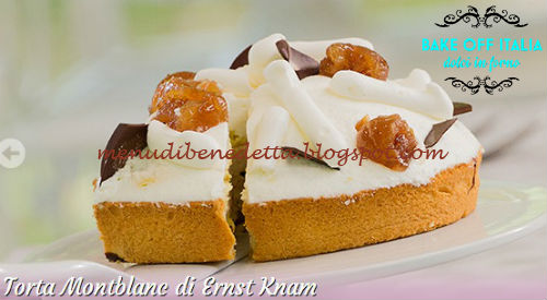 Torta Montblanc ricetta Knam da Bake Off Italia 3