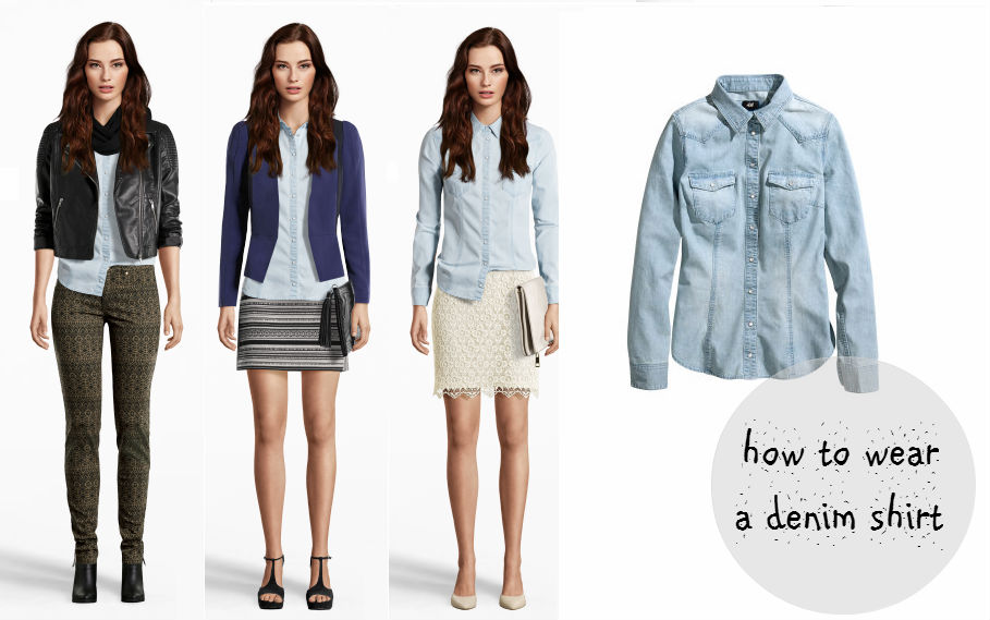 How to wear a denim