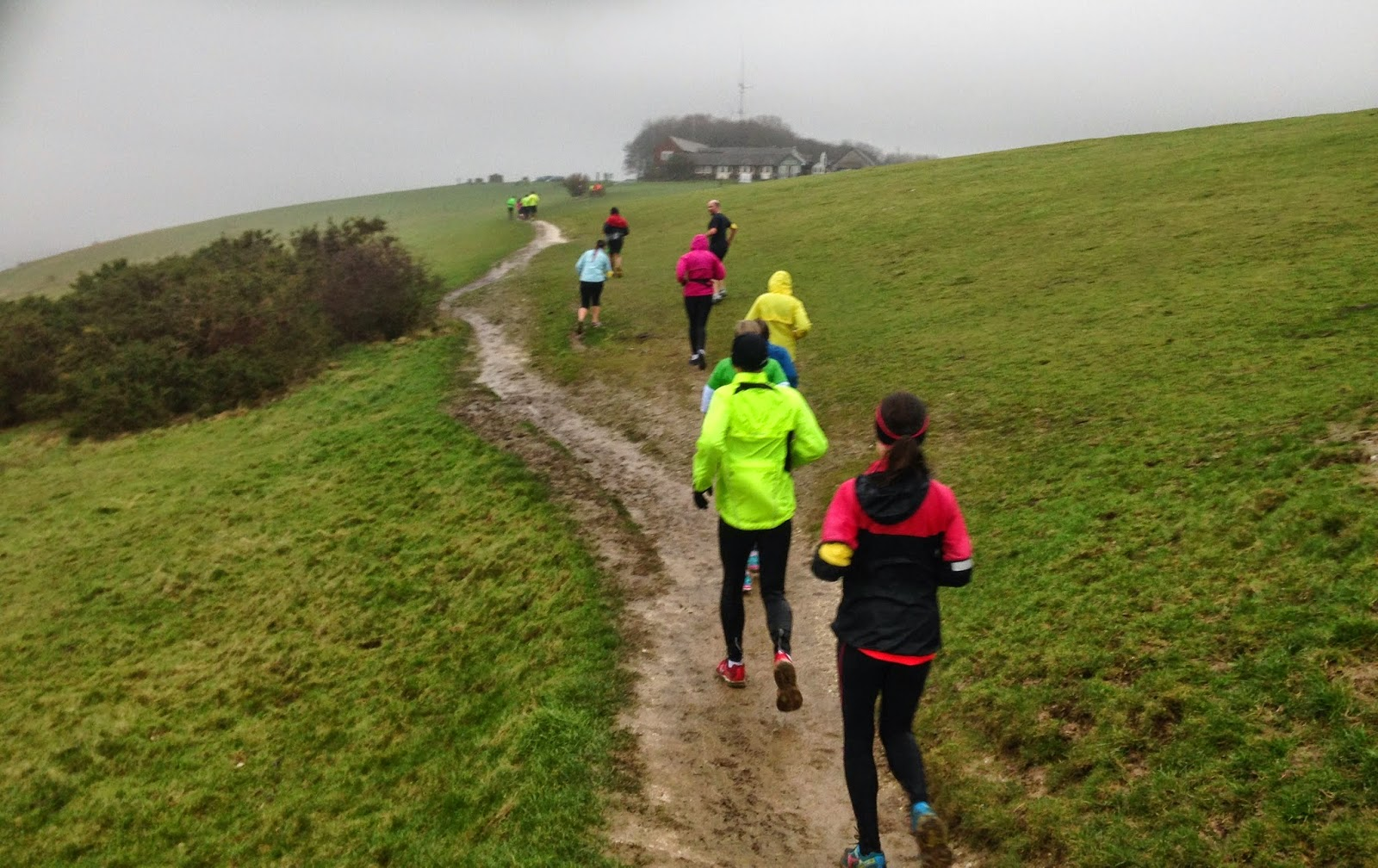 RunBrighton winter marathon training