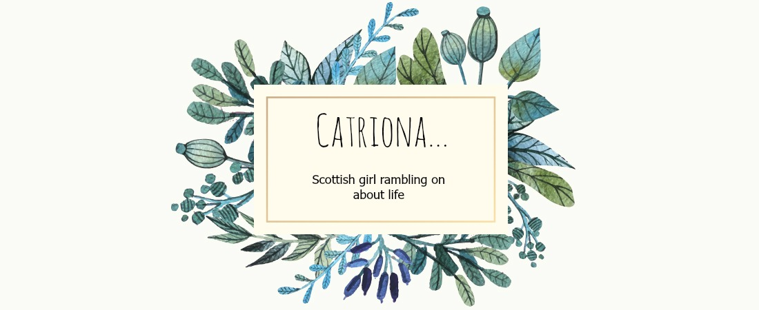 Catriona...