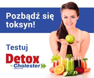 Przetestuj za darmo Detox + Cholester