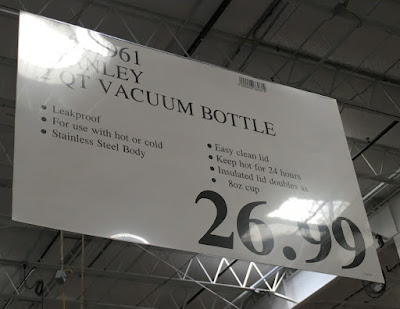 Deal for the Stanley Classic 2qt Vacuum Bottle at Costco