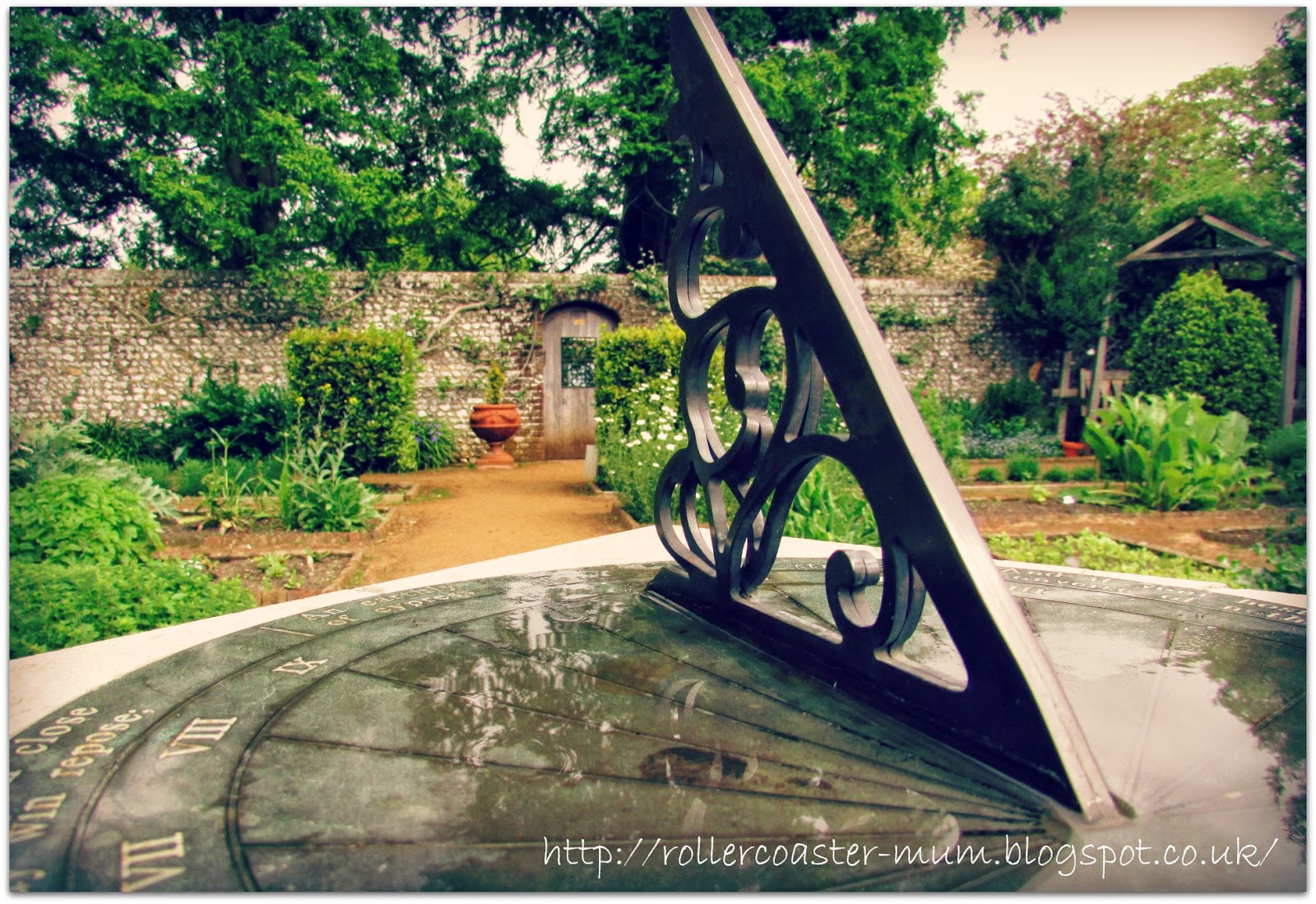 #alphabetphoto, G is for Garden, Petersfield Physic Garden , sundial