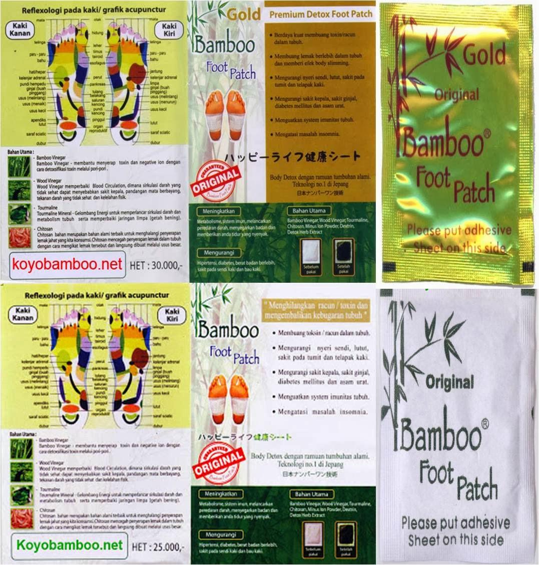 Cy Beauty Shop Koyo Bamboo Gold Original Detox Manfaat Bagi Kesehatan