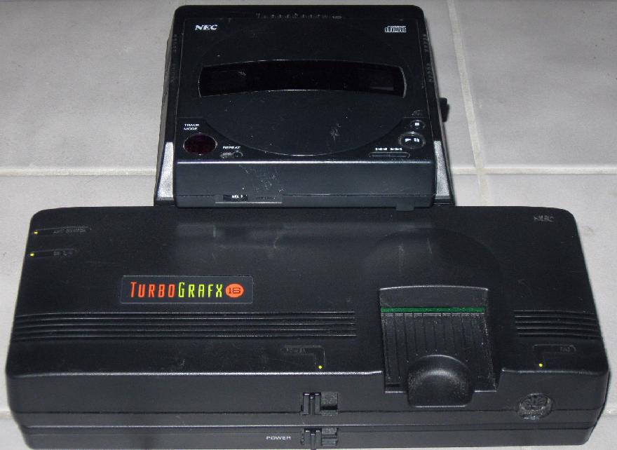 retro treasures nec turbografx cd system games. Black Bedroom Furniture Sets. Home Design Ideas