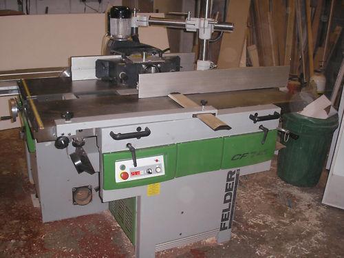 felder combination machine