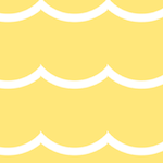 yellow waves pattern