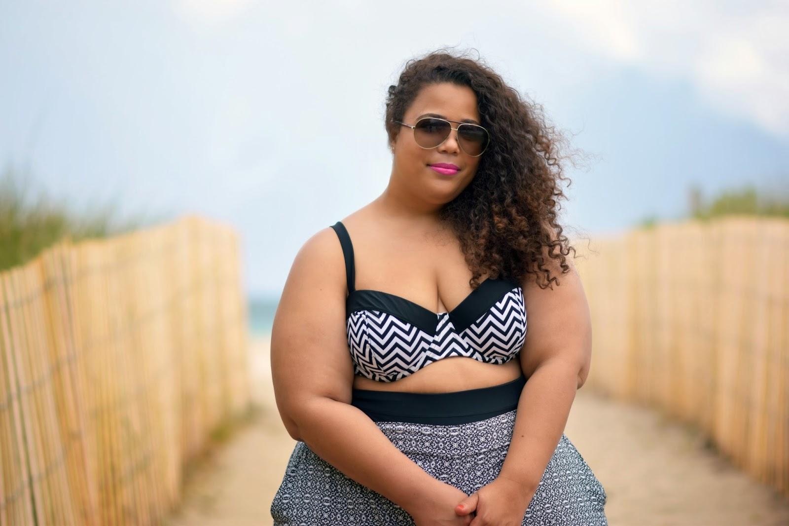Plus Size bikini, fatkini, ava and viv