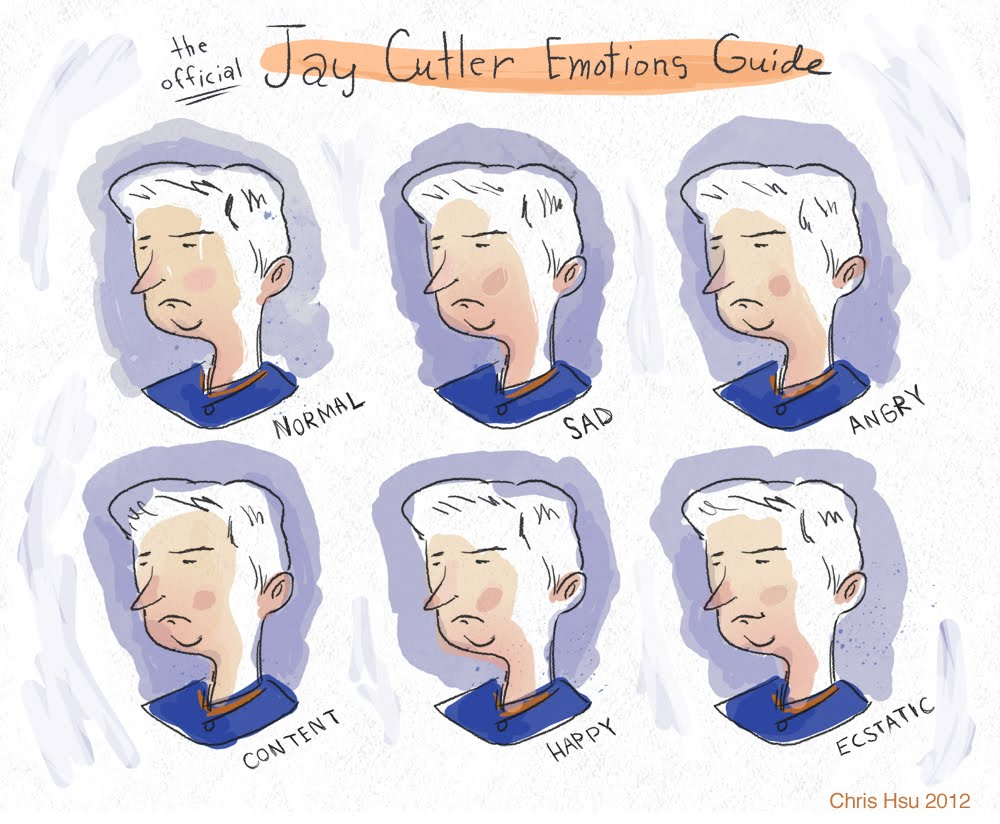 Jay Cutler Illustration by Chris Hsu