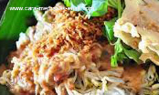 Resep praktis (mudah) makanan khas madiun pecel spesial enak, gurih, lezat