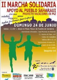 Apoyo al pueblo saharaui en Puebla de Sanabria