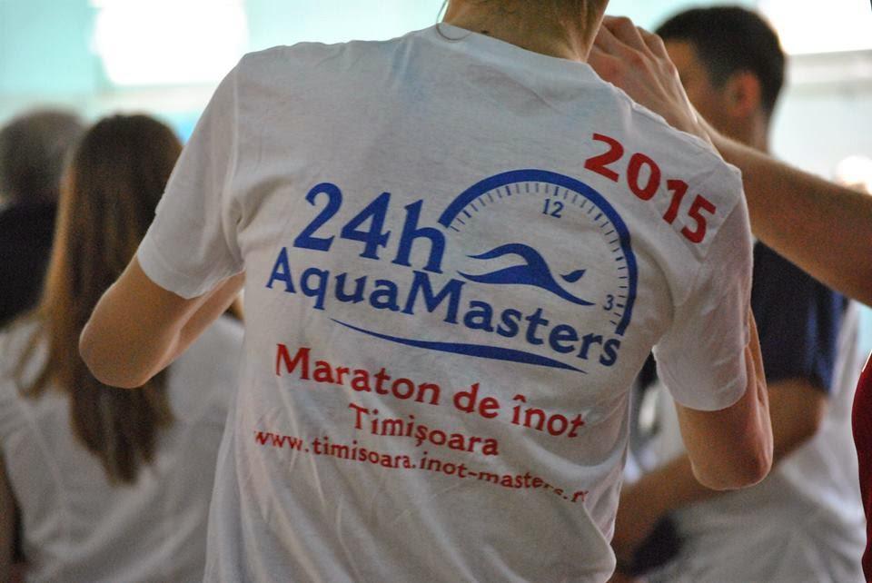 Maratonul de înot 24h AquaMASTERS. Comunicat de presă