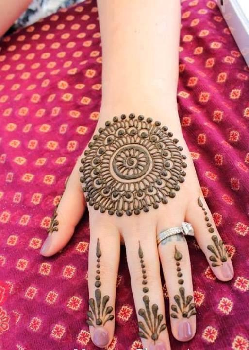 Patternz4u Simple Mehndi Designs For Hands Back Side