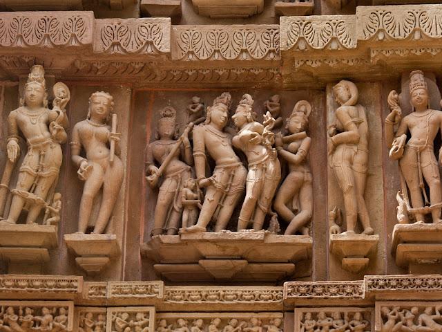 voyage en khajuraho en inde