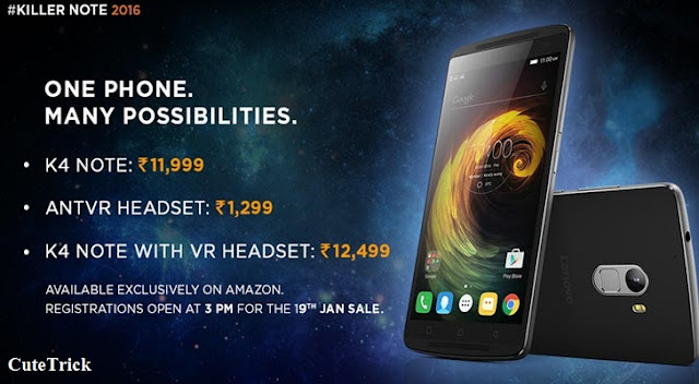 Lenovo K4 Note - Full phone specifications