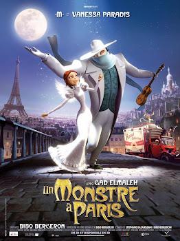 Un Monstruo en París Poster