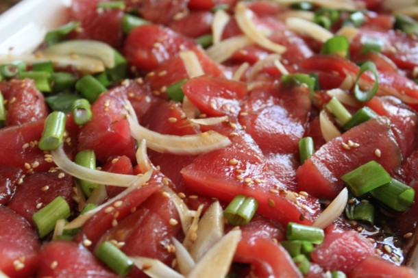 Powersinthekitchen: Hawaii-Style Ahi Poke
