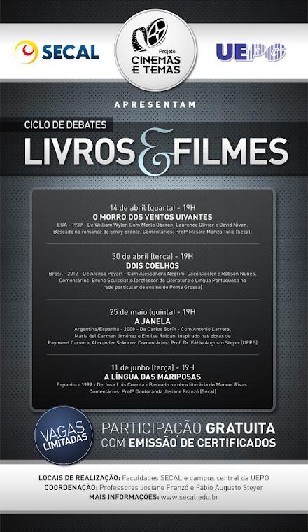 LIVROS E FILMES