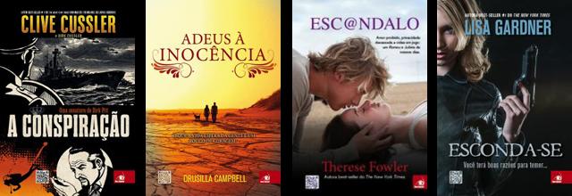 Lançamento de Livros Editora Novo Conceito Outubro