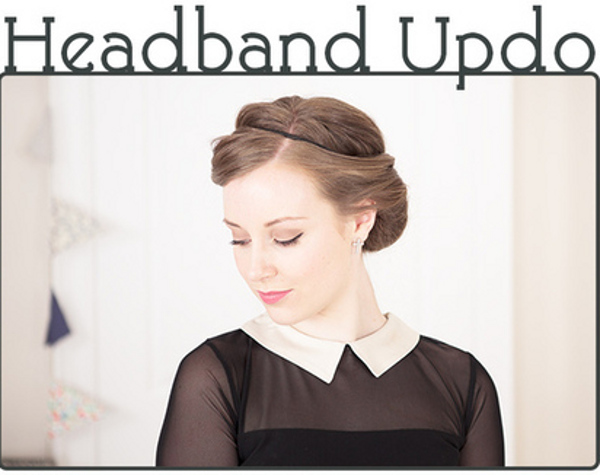10 Easy Updo Hair Tutorials