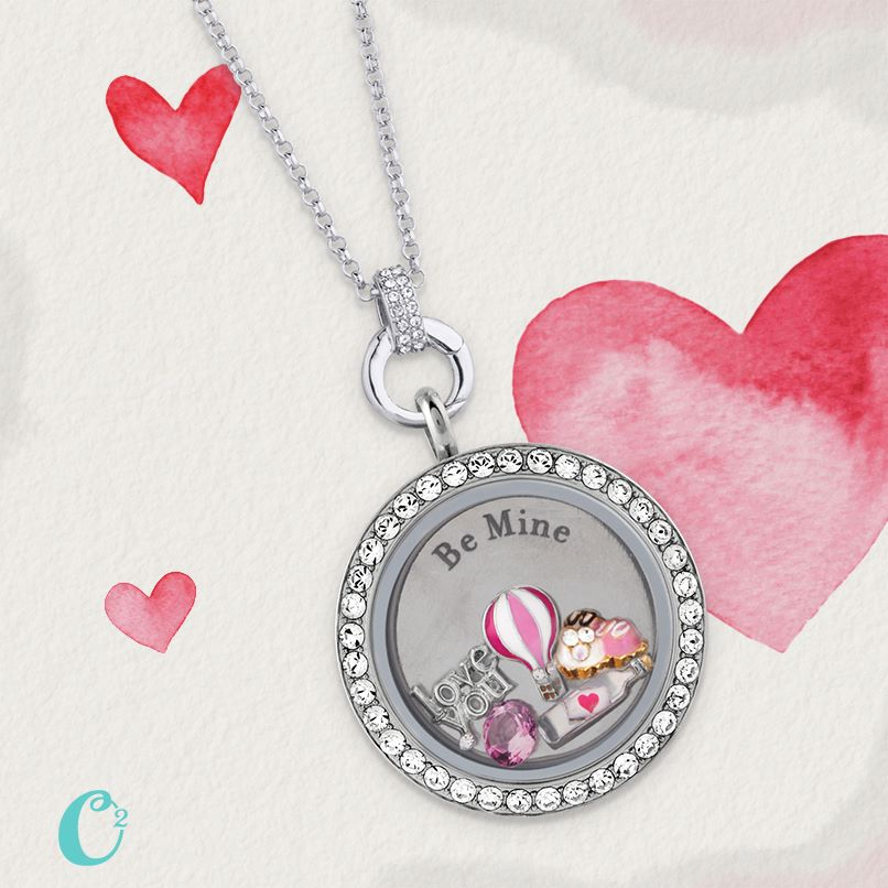 Origami Owl Inscriptions Be Mine Living Locket - Shop StoriedCharms.com