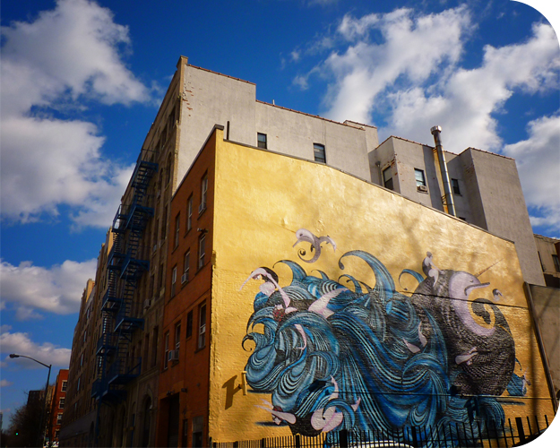 Gary Fernandez Mural. New York