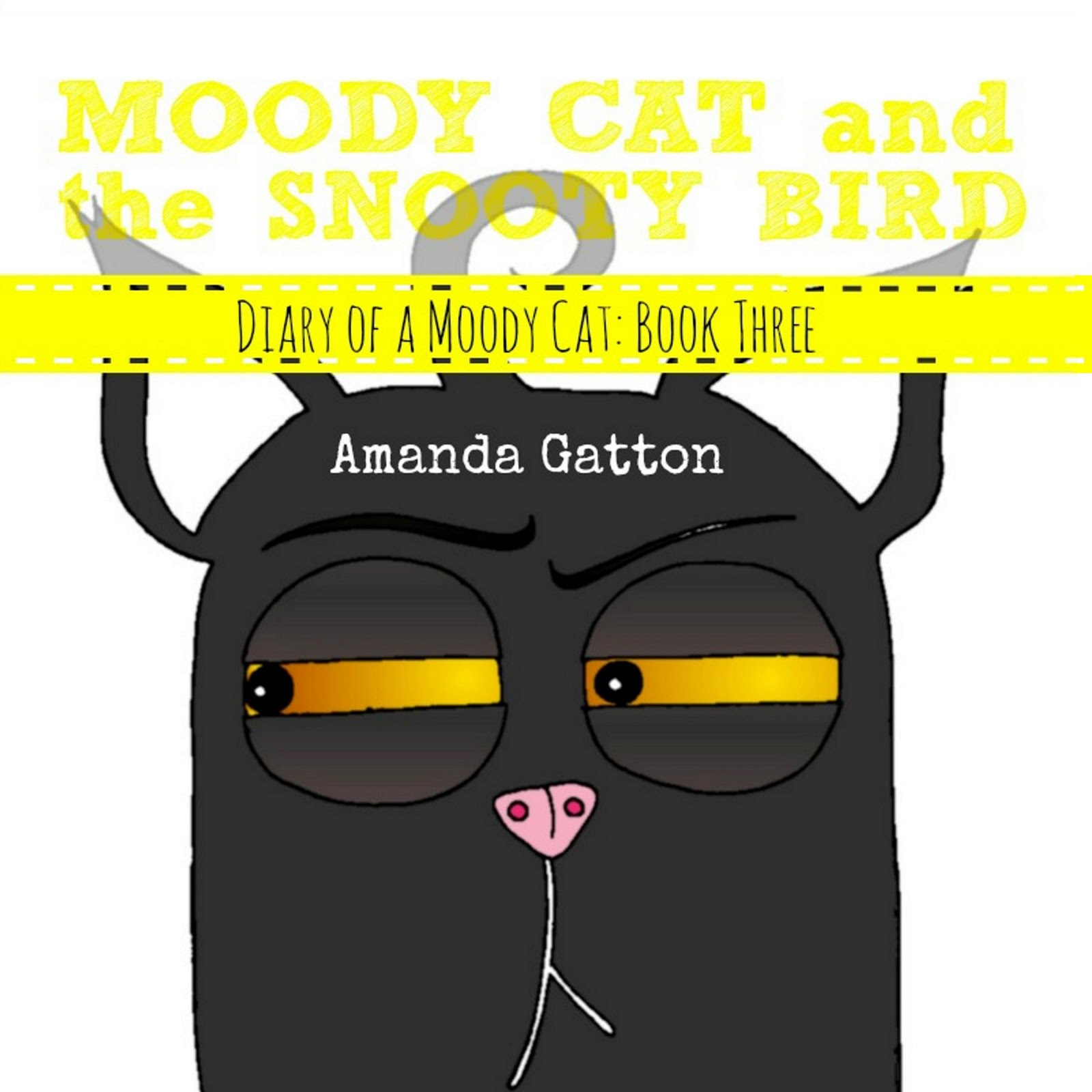 Moody Cat and the Snooty Bird