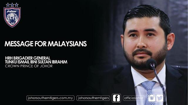 Mesej untuk rakyat Malaysia!