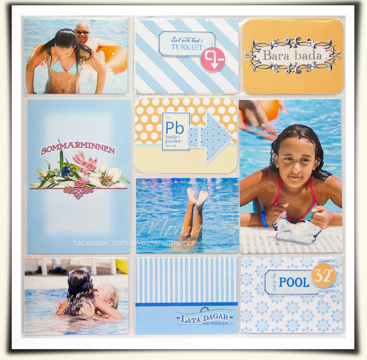 project life, PL, Becky Higgins, Sunshine Freebie kit by Moma, free down load