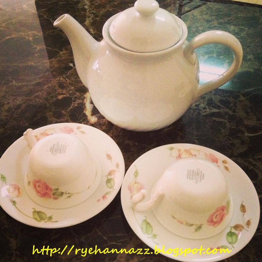 Terrific Tea Set Corelle Malaysia Images - Best Image Engine ...