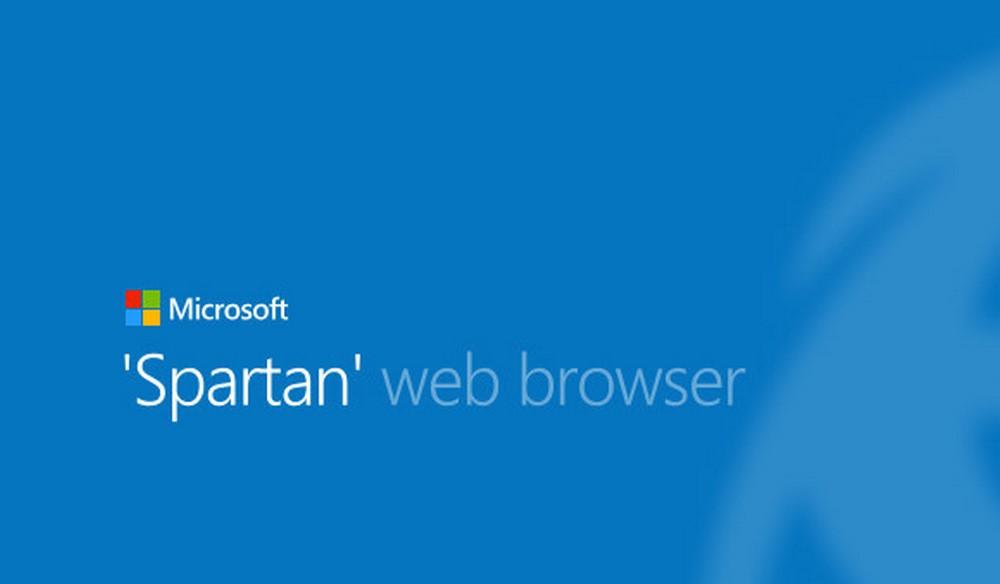 Microsoft'un Yeni Web Tarayıcısı Spartan Duyuruldu