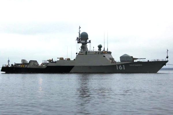 Armada kaspia rusia terima kapal artileri berteknologi stealth