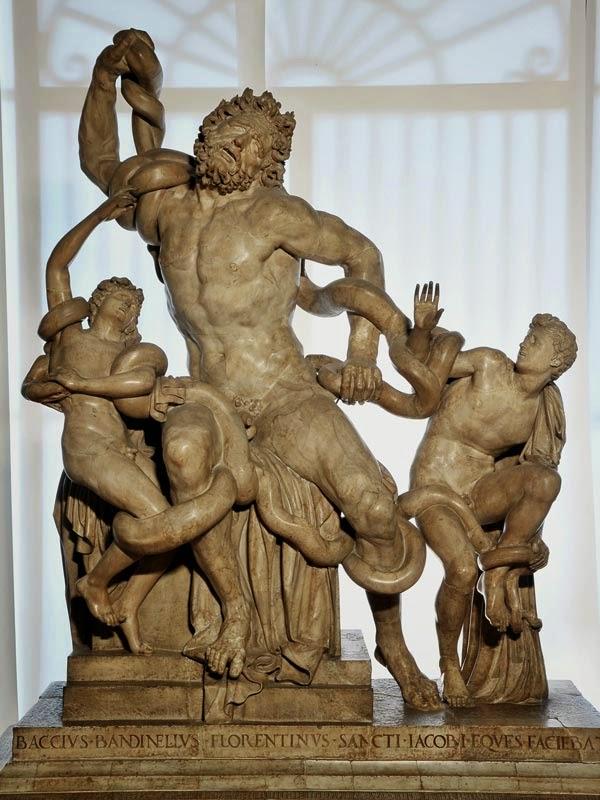 """""""Laocoonte y sus hijos"""" - Período Helenístico"""