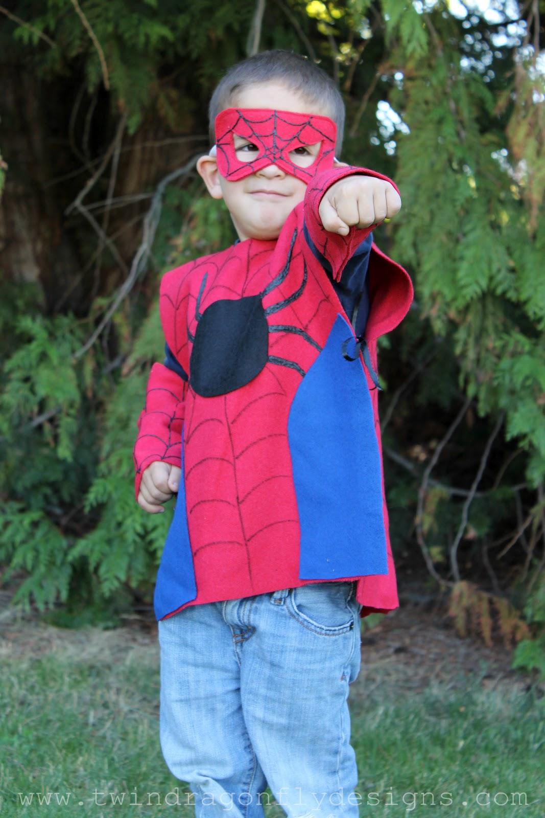 No sew super hero costumes tutorial dragonfly designs solutioingenieria Images