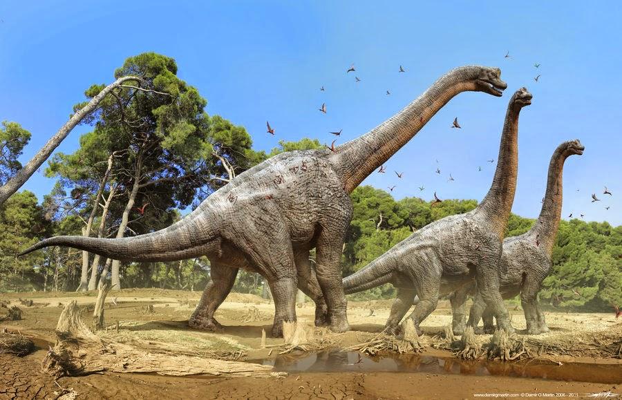 10 Dinosaurus Terbesar Yang Pernah Hidup di Bumi