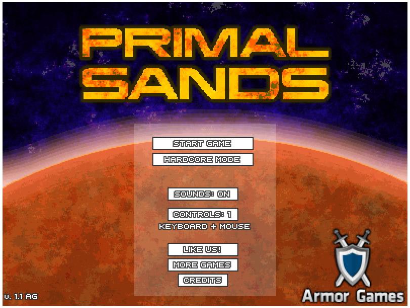 Armor Game : Primal Sands
