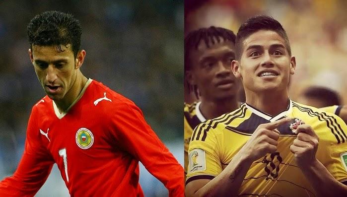 Colombia vs Barein en vivo