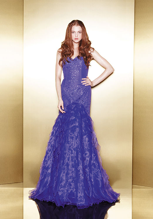 Love 16 Purple Mermaid Prom Dresses by Enzoani 2013