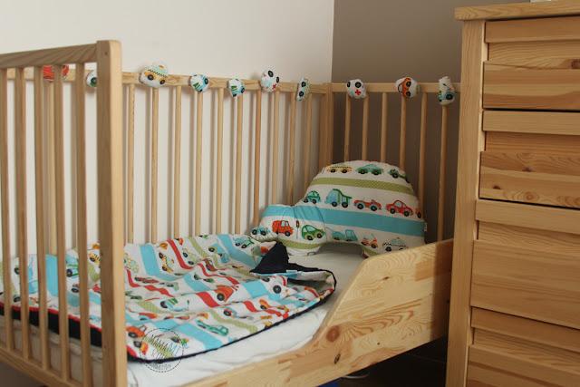 łóżeczko dla starszaka